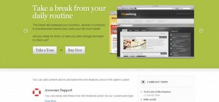Coffee Break WordPress Theme
